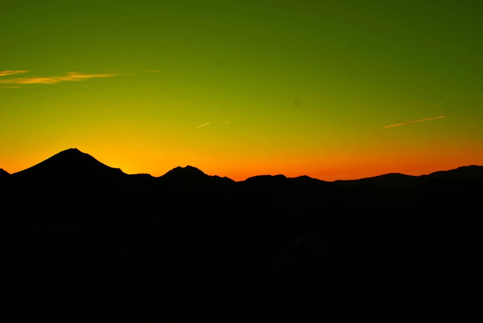 Lever de soleil face au Puy Mary