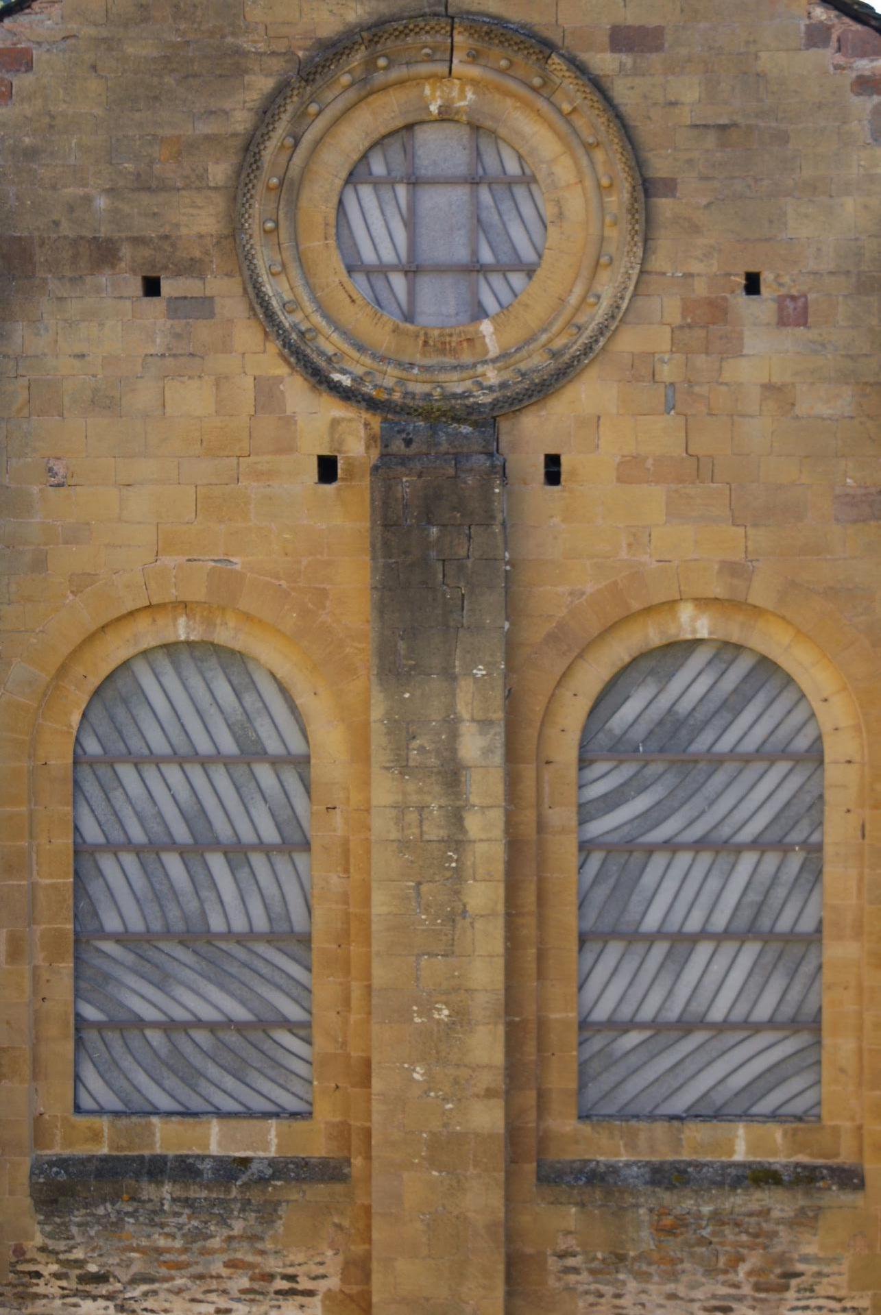 Basilique de Conques - Vitraux de Soulages