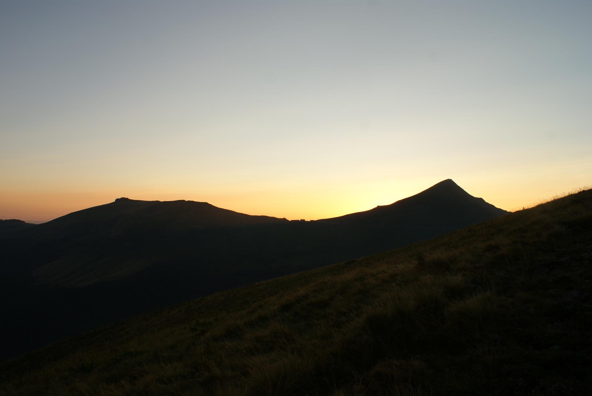Lever de soleil au Puy Mary